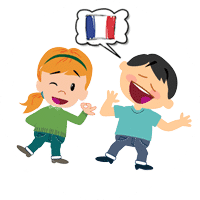 kids improve their pronunciation while taking french courses in paris